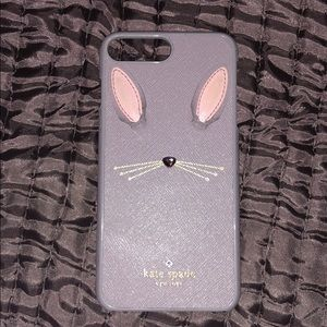 iPhone 7 Plus Kate Spade Leather bunny case